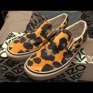 Kenzo x Vans Leopard Slip On Sneaker 8.5M/10W